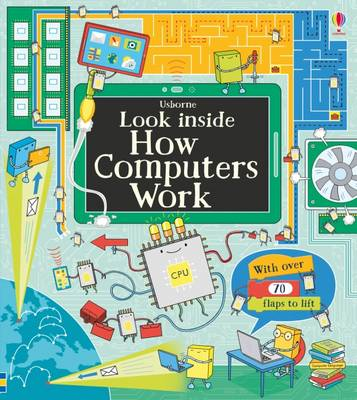 Cover for Look Inside How Computers Work by Alex Frith