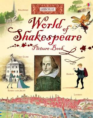 Cover for World of Shakespeare Picture Book by Rosie Dickins
