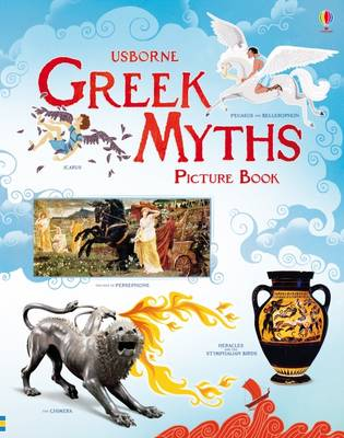 Cover for Greek Myths Picture Book by Rosie Dickins