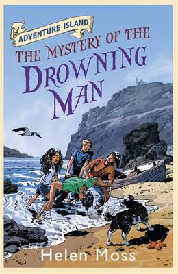 Cover for Adventure Island 8 : The Mystery of the Drowning Man by Helen Moss, Roy Knipe