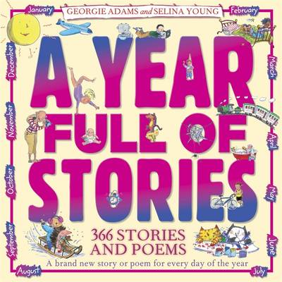 Cover for A Year Full of Stories by Georgie Adams