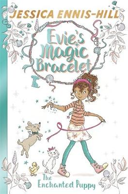 Cover for The Enchanted Puppy by Jessica Ennis-Hill & Elen Caldecott