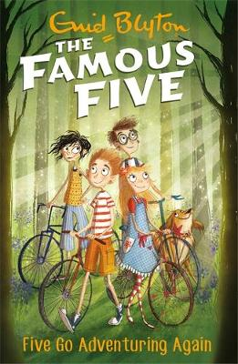 Cover for Five Go Adventuring Again by Enid Blyton
