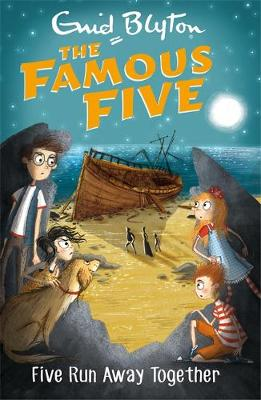 Cover for Five Run Away Together by Enid Blyton