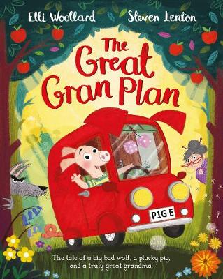 Cover for The Great Gran Plan by Elli Woollard