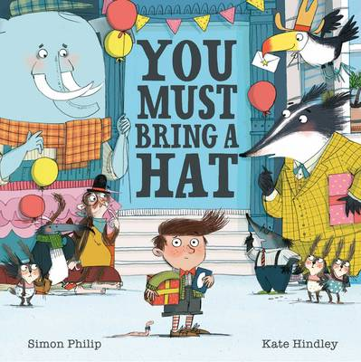 Cover for You Must Bring a Hat by Simon Philip