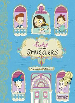 Cover for Violet and the Smugglers by Harriet Whitehorn