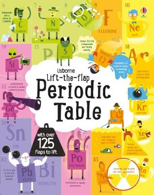 Cover for Lift the Flap Periodic Table by Alice James