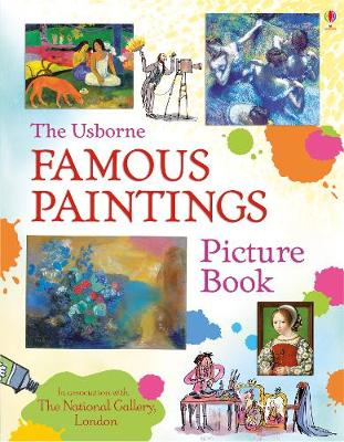 Cover for Famous Paintings Picture Book by Megan Cullis