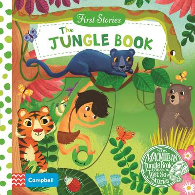 Cover for The Jungle Book by Miriam Bos