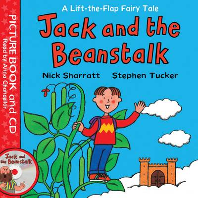 Cover for Lift-The-Flap Fairy Tales: Jack and the Beanstalk by Stephen Tucker