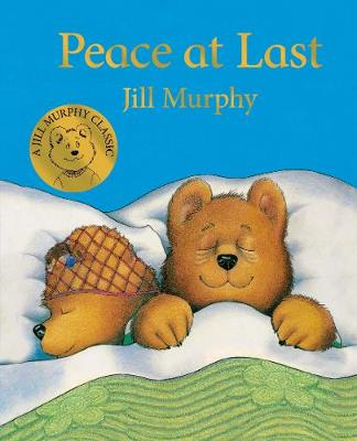 Cover for Peace at Last by Jill Murphy