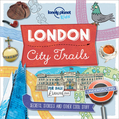 Cover for City Trails - London by Lonely Planet Kids
