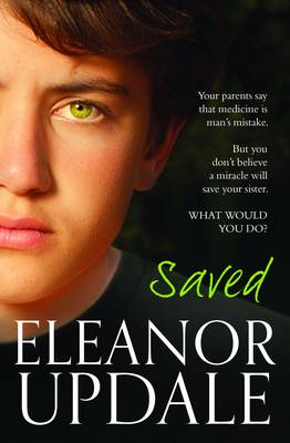 Cover for Saved by Eleanor Updale