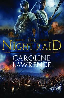 Cover for The Night Raid by Caroline Lawrence