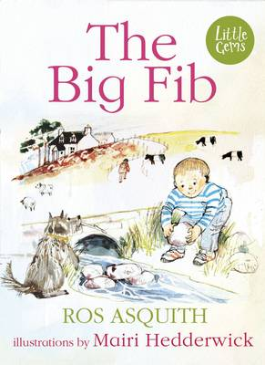 Cover for The Big Fib by Ros Asquith