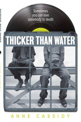 Cover for Thicker Than Water by Anne Cassidy
