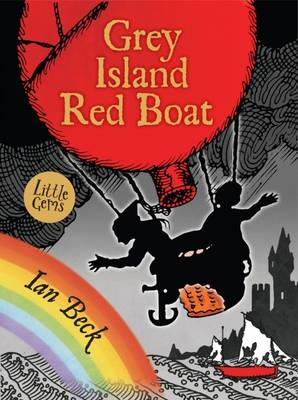 Book Cover for Grey Island, Red Boat by Ian Beck
