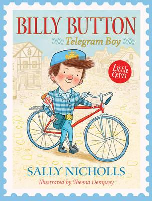 Book Cover for Billy Button, Telegram Boy by Sally Nicholls