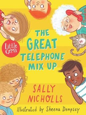 Book Cover for The Great Telephone Mix-Up (Little Gem) by Sally Nicholls