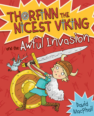Cover for Thorfinn and the Awful Invasion by David MacPhail