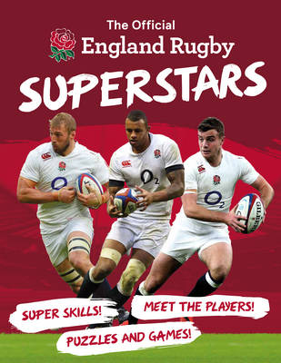 Cover for The Official England Rugby Superstars by Joe Fullman