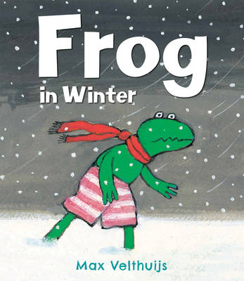 Cover for Frog in Winter by Max Velthuijs