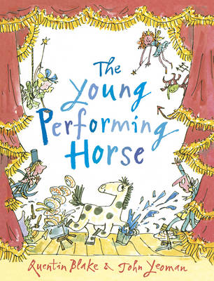 Cover for The Young Performing Horse by John Yeoman