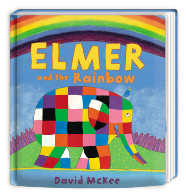 Book Cover for Elmer and the Rainbow by David McKee