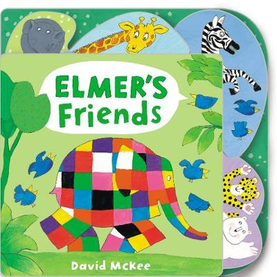 Book Cover for Elmer's Friends by David McKee