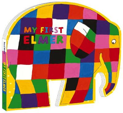 Book Cover for My First Elmer by David McKee