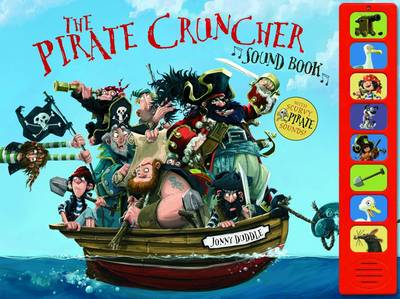 Cover for The Pirate-Cruncher Sound Book by Jonny Duddle