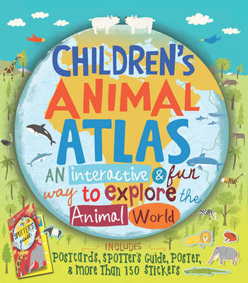 Cover for Children's Animal Atlas by Barbara Taylor