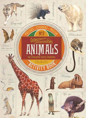 Cover for Collection of Curiosities: Animals by Vicky Egan