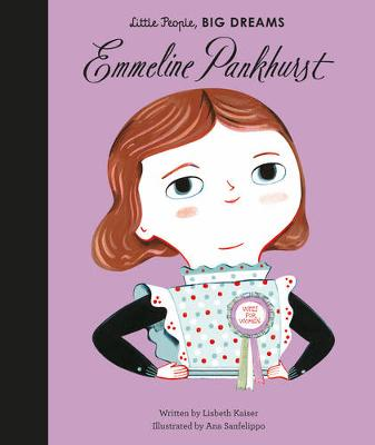 Book Cover for Emmeline Pankhurst by Lisbeth Kaiser