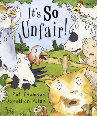 Cover for It's So Unfair! by Pat Thomson