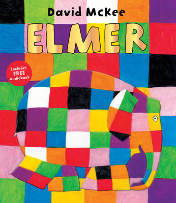 Book Cover for Elmer by David McKee
