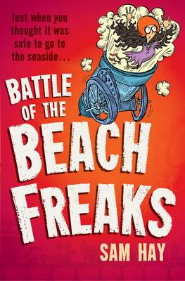Cover for Battle of the Beach Freaks by Sam Hay