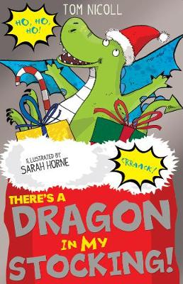 Cover for There's a Dragon in my Stocking! by Tom Nicoll