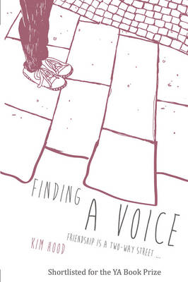 Cover for Finding A Voice by Kim Hood