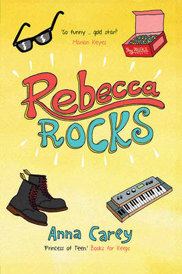 Cover for Rebecca Rocks by Anna Carey