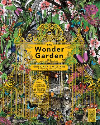 Cover for The Wonder Garden  by Jenny Broom