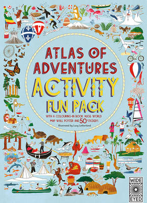 Cover for Atlas of Adventures Activity Fun Pack by Lucy Letherland