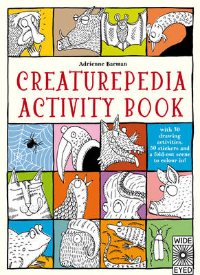 Cover for Creaturepedia Activity Book by Adrienne Barman