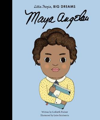 Cover for Maya Angelou by Lisbeth Kaiser