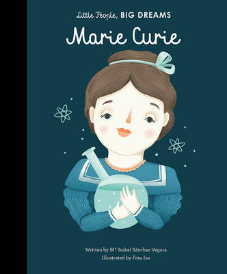 Book Cover for Marie Curie by Isabel Sanchez Vegara