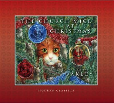 Cover for The Church Mice at Christmas by Graham Oakley