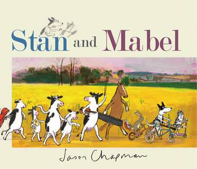 Cover for Stan and Mabel by Jason Chapman