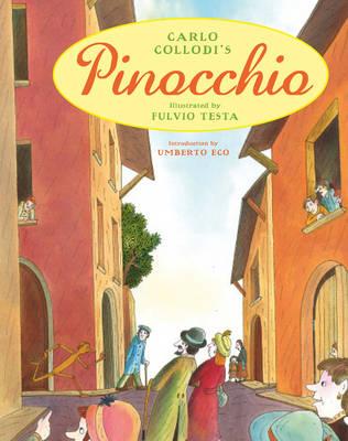Cover for Pinocchio by Carlo Collodi