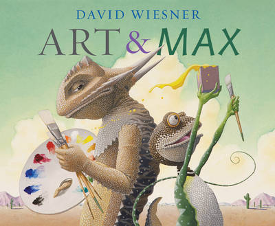 Cover for Art and Max by David Wiesner